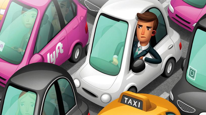 Исследование: мобильные сервисы такси серьезно ухудшают дорожную ситуацию