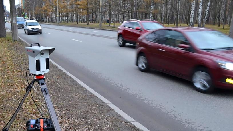 Подмосковным водителям подскажут места размещения камер на треногах