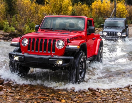 РФ-цены нового Jeep Wrangler