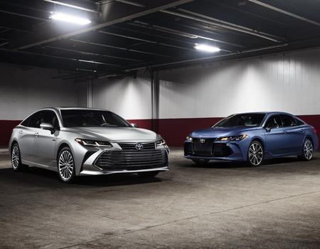 Toyota показала новый Avalon