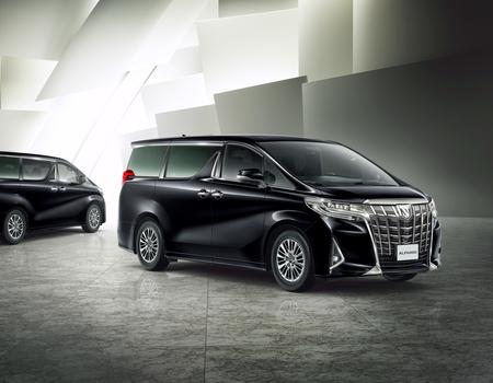 Цены на новый Toyota Alphard