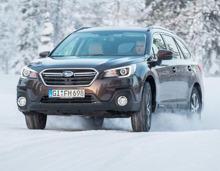 Тест-драйв Subaru Outback 2018