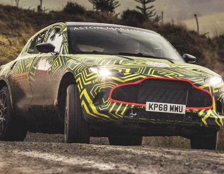 Супер-кроссовер Aston Martin