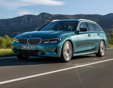 Новый универсал BMW 3 Серии