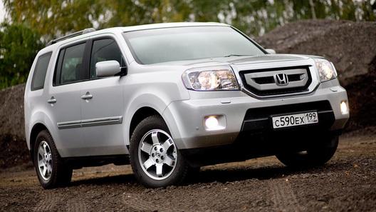 Honda Pilot: большая CR-V