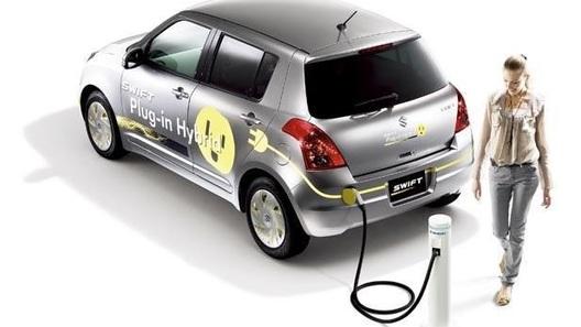 Suzuki Swift поедет от электричества