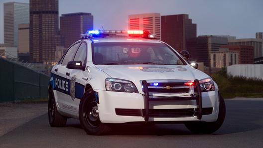 Новый полицейский Chevrolet готовится заступить на службу