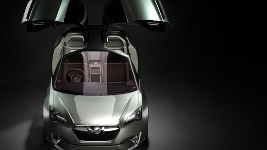 Концепт Subaru Hybrid Tourer появился на публике