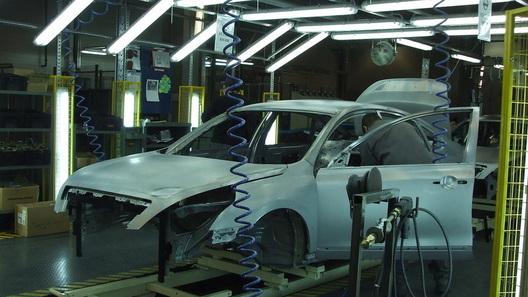 Как собирают российские Nissan - вид изнутри