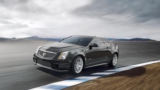 Cadillac CTS-V Coupe: красота по-американски
