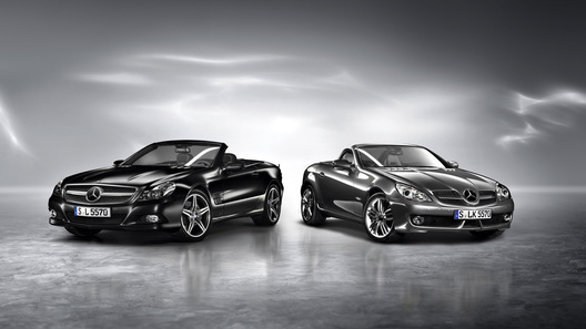 Mercedes-Benz SL Night Edition и SLK Grand Edition: недорого и эксклюзивно