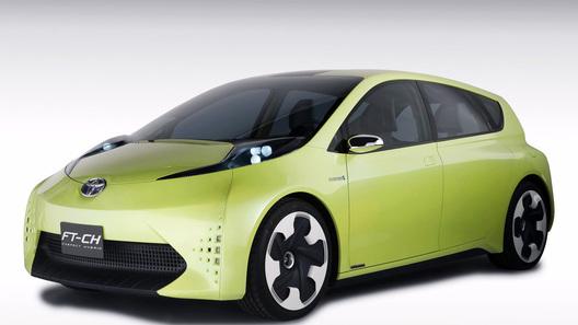 Toyota представила в Детройте концептуальную модель FT-CH