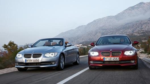 BMW обновляет кабриолет и купе 3-Series