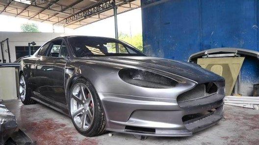 Тайский Aston Martin сделали из старенького Opel Calibra