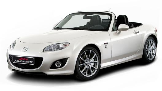 Mazda MX-5 20th Anniversary Edition: подарок к юбилею