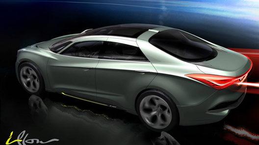Концепт Hyundai i-Flow: корейский ответ новому Ford Mondeo