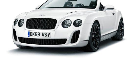Bentley Continental Supersports: самый быстрый четырехместный кабриолет в мире