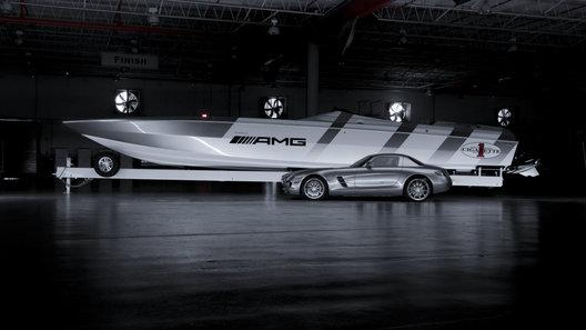 Эксклюзивный Cigarette Rider: 2700 лошадиных сил в традициях AMG