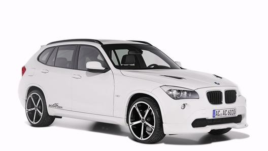Новый кроссовер BMW X1 в тюнинге от AC Schnitzer