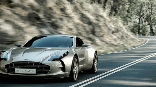 Aston Martin One-77: десять штук в одни руки
