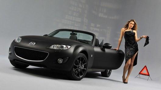 Mazda MX-5 Black & Matte Edition: подарок в черной коробке