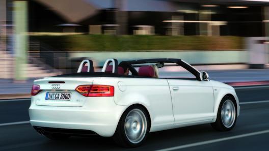 Компактный кабриолет А3 получил новый турбированный двигатель 1,2 литра