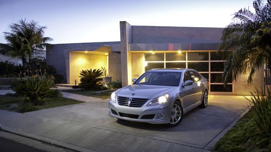 Hyundai снизил ценник нового поколения седана Equus