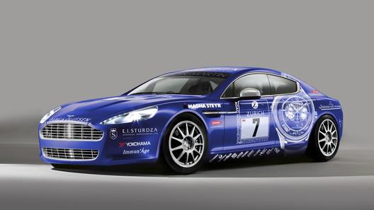 Aston Martin привезет новый Rapide на