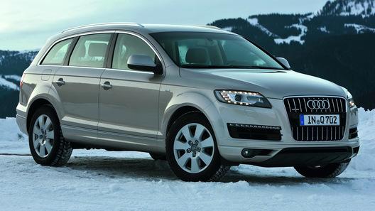Внедорожник Audi Q7 получил новые шестицилиндровые моторы