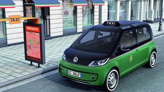 Volkswagen представил прототип городского такси на электротяге