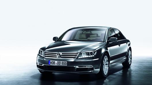 Volkswagen представил серьезно модернизированный лимузин Phaeton