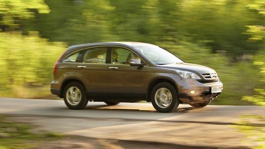 Honda CR-V: считаем по пальцам изменения в модели 2010 года
