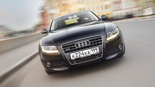 Audi A5 Sportback: красивый и функциональный