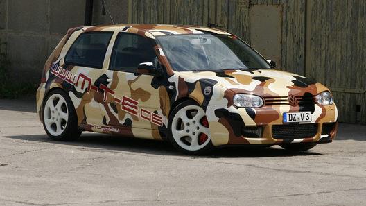 Тюнинг-ателье MTE выжало 790 л.с. из мотора Volkswagen Golf