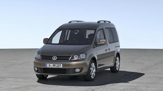 Volkswagen модернизировал компактный минивэн Caddy