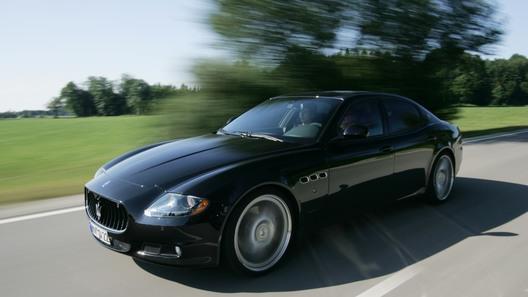 Фирма Novitec оснастила Maserati Quattroporte 590-сильным V8