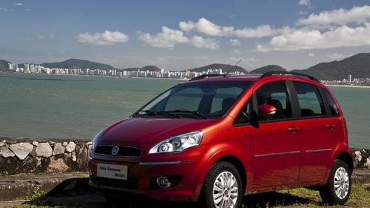 Fiat представляет на рынке Южной Америки обновленный минивэн Idea