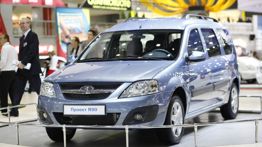 Серийное производство семиместного универсала Lada R90 намечено на 2012 год