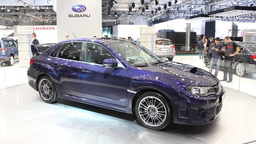 Начались российские продажи обновленной Subaru Impreza WRX STI