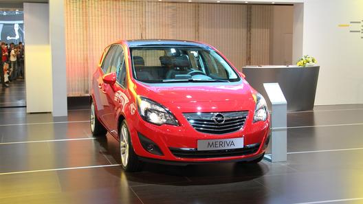 На ММАС состоялась российская премьера Opel Meriva