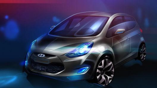 Компания Hyundai опубликовала изображение новой модели ix20