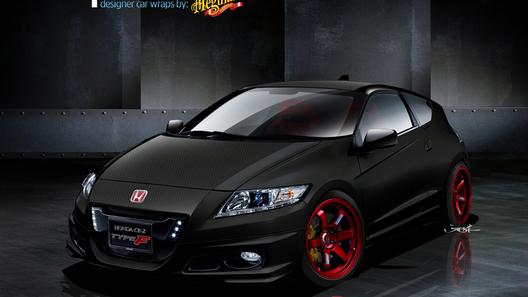 Wraptivo Honda CR-Z Type-F от Meguiar's готовится к появлению на автошоу SEMA