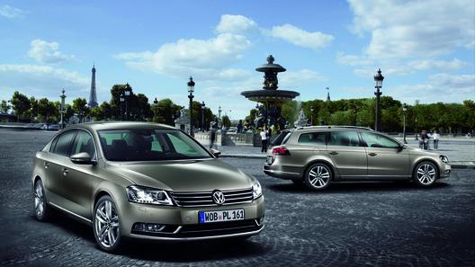 Париж 2010: Volkswagen представляет новый Passat