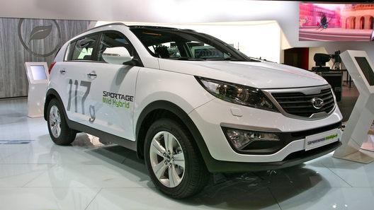 Париж 2010: Kia показала дизельный гибрид Kia Sportage