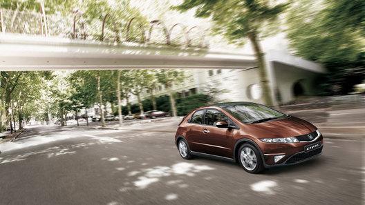 Honda анонсировала обновленный хэтчбек Civic образца 2011 модельного года