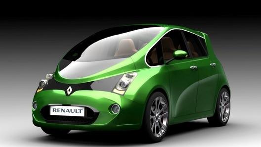 В Бразилии нарисовали электромобиль специально для Renault