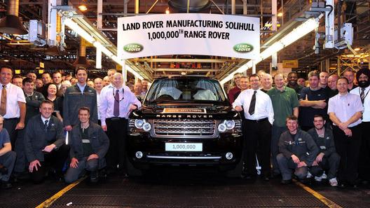 Land Rover пожертвует миллионный Range Rover в помощь героям