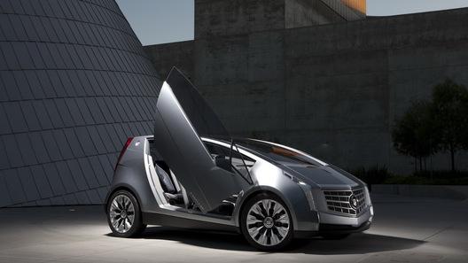 Cadillac представил свой самый маленький автомобиль Urban Luxury Concept