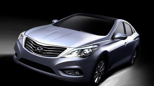 Hyundai распространила первые изображения нового Grandeur