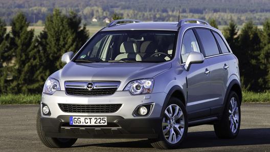 Opel обновил полноприводный кроссовер Antara